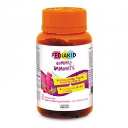 PEDIAKID НАТУРАЛЬНІ ВЕДМЕЖУЙКИ ІМУНІТЕТ / PEDIAKID GOMMES IMMUNITE - зміцнюють імунітет, 60 жувальних вітамінів