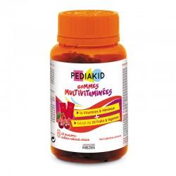 PEDIAKID НАТУРАЛЬНІ ВЕДМЕЖУЙКИ МУЛЬТИВІТАМІНИ - Знижують втомлюваність та підтримують імунитет, 60 жувальних вітамінів