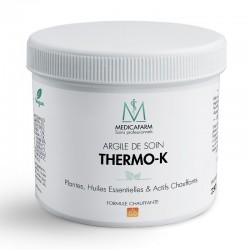 MEDICAFARM Масажна маска-глина Термо-Аргіл з рослинами, ефірними оліями та прогріванням «інтенсивний розігрів», 250 г