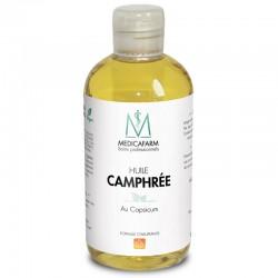 MEDICARAFM Олія для догляду Олео-К з ефірними оліями та камфорою «Інтенсивний розігрів», 250 мл