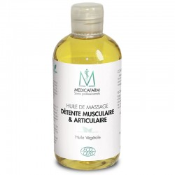 MEDICAFARM Масажна олія для розслаблення  м'язів та суглобів Біо «м'яке тепло», 250 мл