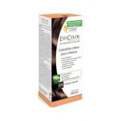 EffiColor Краска-крем Натуральный шатен №04 / COLORING CREAM Natural chestnut n°04
