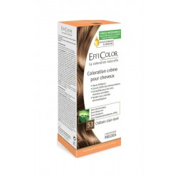 EffiColor Краска-крем Светлый золотистый шатен №53 / COLORING CREAM Light golden chestnut n°53