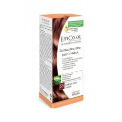 EffiColor Краска-крем Светлый красное дерево шатен №55 / COLORING CREAM Light mahogany chestnut n°55