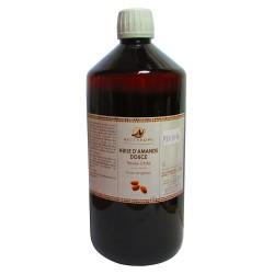 Nectarome Олія солодкого мигдалю холодного пресування / Huile d'Amande douce présse à froid (Prunus amygdalus), 1 л