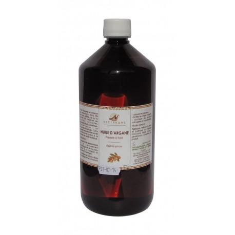 Nectarome Масло аргании холодного прессования (косметическое и диетологическое применение), 1 л