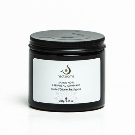 Nectarome Гоммаж бельди с эвкалиптом («черное мыло») / Gommage beldi (Savon noir) Eucalyptus, 200 г