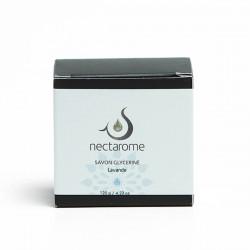 Nectarome Мыло глицериновое с лавандой / Savon glycériné Lavande, 120 г