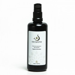 Nectarome Олія для масажу релаксуюча арганія + вербена / Huile de massage Relaxante Verveine et Argane, 100 мл