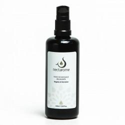 Nectarome Масло массажное релаксирующее аргания + вербена / Huile de massage Relaxante Verveine et Argane, 100 мл