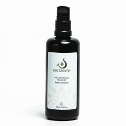 Nectarome Масло массажное релаксирующее аргания + жасмин / Huile de massage Relaxante Jasmin et Argane, 100 мл