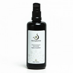 Nectarome Масло массажное для мышц и суставов аргания + гаултерия / Huile de massage Musculaire Gaulthérie et Argane, 100 мл