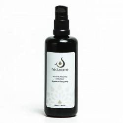 Nectarome Олія для масажу підвищуюча чутливість арганія + іланг-іланг (жіноче), 100 мл
