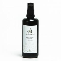 Nectarome Масло массажное релаксирующее аргания + роза / Huile de massage Relaxante Rose et Argane, 100 мл