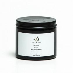 Nectarome Маска для обличчя Сяяння (20 рослин) / Masque éclat (avec 20 plantes), 100 г