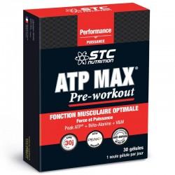 STC АТФ МАКС ПРЕДТРЕНИРОВКА / STC ATP MAX PRE-WORKOUT - упаковка 30 капсул
