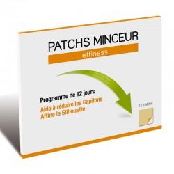 EFFINESS ПЛАСТИР ДЛЯ СХУДНЕННЯ / Patch Minceur - Стимулює втрату ваги, 12 пластирів