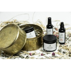 Nectarome Подарочный набор Медный кофр хаммам / Boite coupelle Hammam