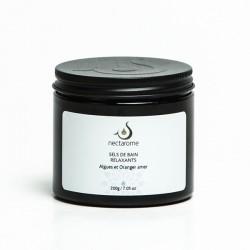 Nectarome Соль для ванн с ЭМ Горького апельсина и водорослями релаксирующая, 200 г, 200 г