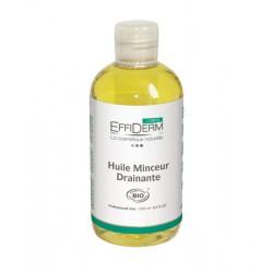 EffiDerm Масло массажное для похудения и дренажа органическое / Huile Minceur Drainante BIO, 250 мл