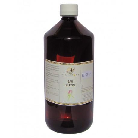 Nectarome Цветочная вода Дамасской розы, для лица, волос и тела / Eau de Rose, 1 л