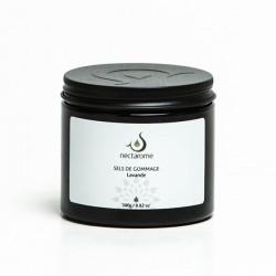 Nectarome Соль морская для гоммажа с лавандой / Sels Marins de gommage Lavande, 300 г