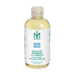 Medicafarm Масло массажное АРНИКА с экстрактами берёзы и ивы «Охлаждающий эффект» органическое, 250 мл
