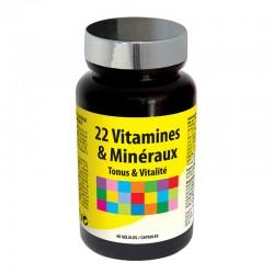 НУТРІ ЕКСПЕРТ 22 ВІТАМІНА ТА МІНЕРАЛА / NUTRIEXPERT 22 VITAMINES & MINERAUX, 60 капсул  - будь у найкращій формі кожного дня.