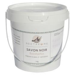 Nectarome Гоммаж бельди с эвкалиптом («черное мыло»)  / Gommage beldi (Savon noir) Eucalyptus, 1 кг