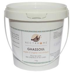 Nectarome Гассул (рассул), обогащенный 7 травами (марокканская вулканическая глина) / Ghassoul aromatisé, 1 кг