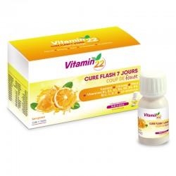 Витамин'22, витаминно-тонизирующий бустер, 7 флаконов-доз