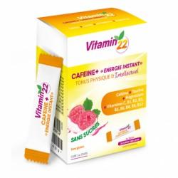 Витамин'22 КОФЕИН ПЛЮС / Vitamin'22 CAFEINE +, 14 стиков