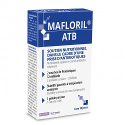INELDEA МАФЛОРИЛ АТБ – пробиотик, устойчивый к антибиотикам / INELDEA MAFLORIL® ATB - 10 капсул
