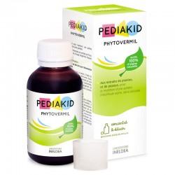PEDIAKID НАТУРАЛЬНИЙ ПИТНИЙ ЗАСІБ ФІТОВЕРМІЛ / PHYTOVERMIL, Натуральний протиглистовий препарат, 125 мл