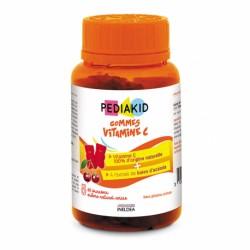 PEDIAKID НАТУРАЛЬНЫЕ МЕДВЕЖУЙКИ ВИТАМИН С / GOMMES VITAMINE C, 60 жевательных витаминов