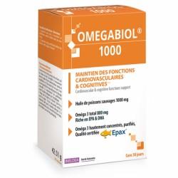 INELDEA ОМЕГАБИОЛ 1000 / OMEGABIOL® 1000 – функции сердечно-сосудистой системы и головного мозга - 60 капсул