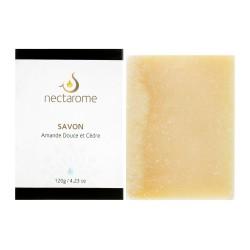 Nectarome Мыло на основе миндального масла для лица и тела / Savon à l'Amande douce, 120 г