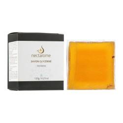 Nectarome Мыло глицериновое с вербеной / Savon glycériné Verveine, 120 г