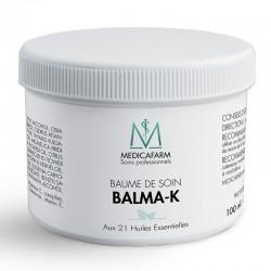 Medicafarm БАЛЬМА-К массажный бальзам с 21 эфирным маслом «Мягкое тепло», 100 мл