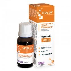 INELDEA ВИТАЛ-Д3 / VITAL-D3® - крепость костей, поддержка иммунитета - 20 мл
